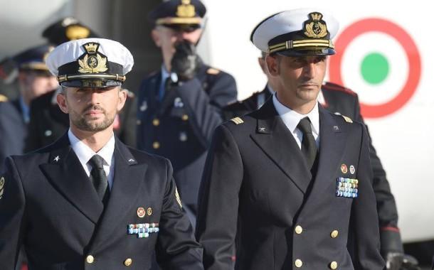 Il marò Salvatore Girone rientrato in Patria.