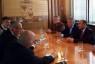 Summit a Trento; il senatore Divina accoglie l'Ambasciatore dell'Azerbaijan Mammad Ahmadzada