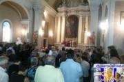 Lazio; Colle di Tora; l'ultimo saluto alle tre giovani vittime del terremoto