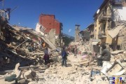 La violenza della natura; reportage dal terremoto di Amatrice
