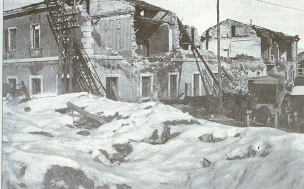 Centodue anni fa il terremoto di Avezzano; il ricordo di una catastrofe senza precedenti