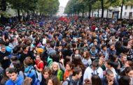 Studenti in piazza nelle città italiane contro l'alternanza scuola-lavoro
