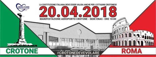Comunicato stampa - Comitato Cittadino Aeroporto Crotone