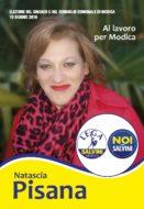 Natascia Pisana per Modica - Santino elettorale on line