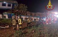 Schianto ferroviario sulla Torino-Ivrea, due morti. Ancora incerte sulle cause del disastro