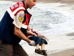 Aylan, Il bambino di 3 anni, che stava fuggendo con la famiglia da Kobane.