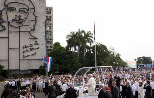 Mezzo milione di fedeli a Cuba per Papa Francesco