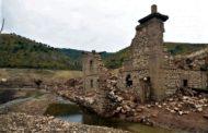 Con la siccità, un borgo spagnolo riemerge dalle acque dopo 60 anni