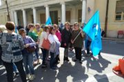 Ragusa, manifestazione di piazza UilFpl per il diritto al lavoro. Natasha Pisana: