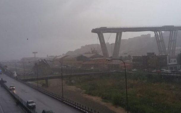 Tragedia a Genova, crolla il Ponte Morandi. Distruzione, vittime e feriti