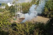 Incendio di sterpaglie, uomo condannato ad un anno di reclusione con sentenza del Tribunale di Avezzano