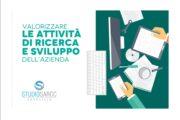 Attività di ricerca e sviluppo dell'azienda, il commercialista Lamberto Mattei in azione con un format specifico ed innovativo