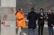 Il ministro Toninelli a Colledara per le verifiche tecniche sui viadotti della A24