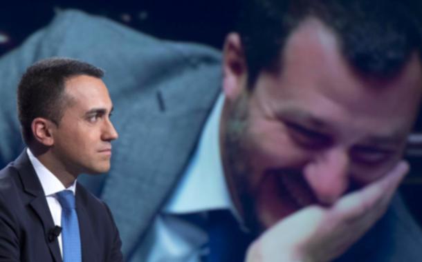 Scontro Salvini Di Maio, realtà o finzione elettorale? Aleggia lo spettro del doppio governo?