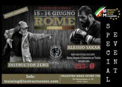 Il SIM Carabinieri con Alessio Sakara & Instructor Zero: due giorni di training intensivo per la prima volta a Roma.