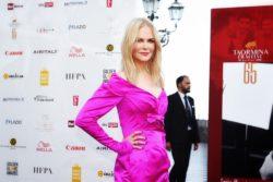 Nicole Kidman al Taormina Film Fest 2019