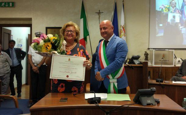 La cittadinanza onoraria di Frosinone conferita al Prefetto Emilia Zarrilli